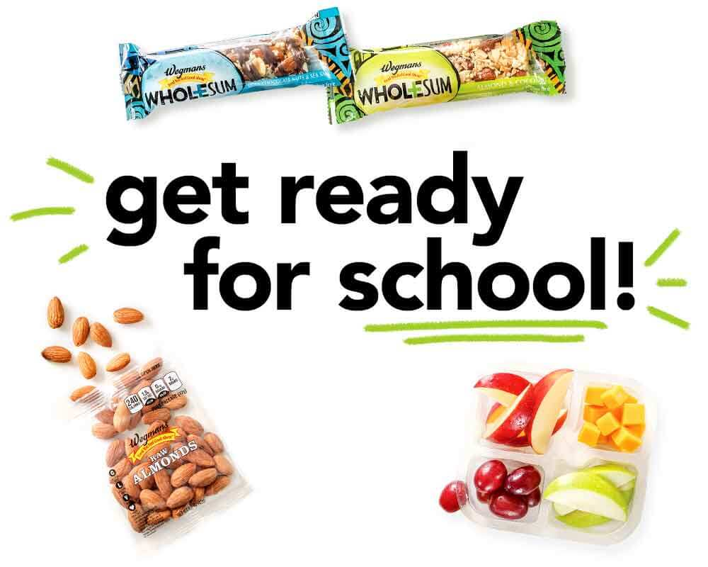 get ready for school!