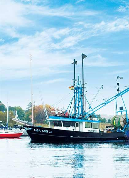 A Fresh Catch Seafood fishing boat