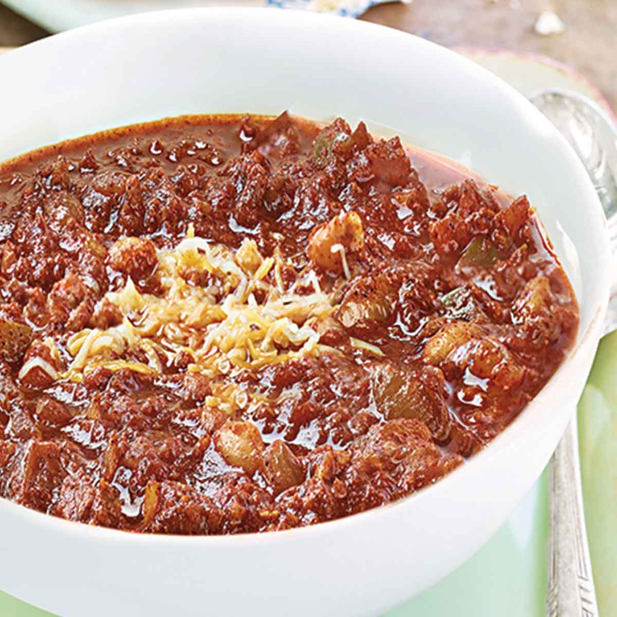 Slow-Cooked Beef Chili