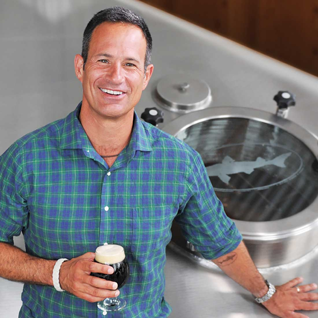 Dogfish Head founder and brewmaster Sam Calagione