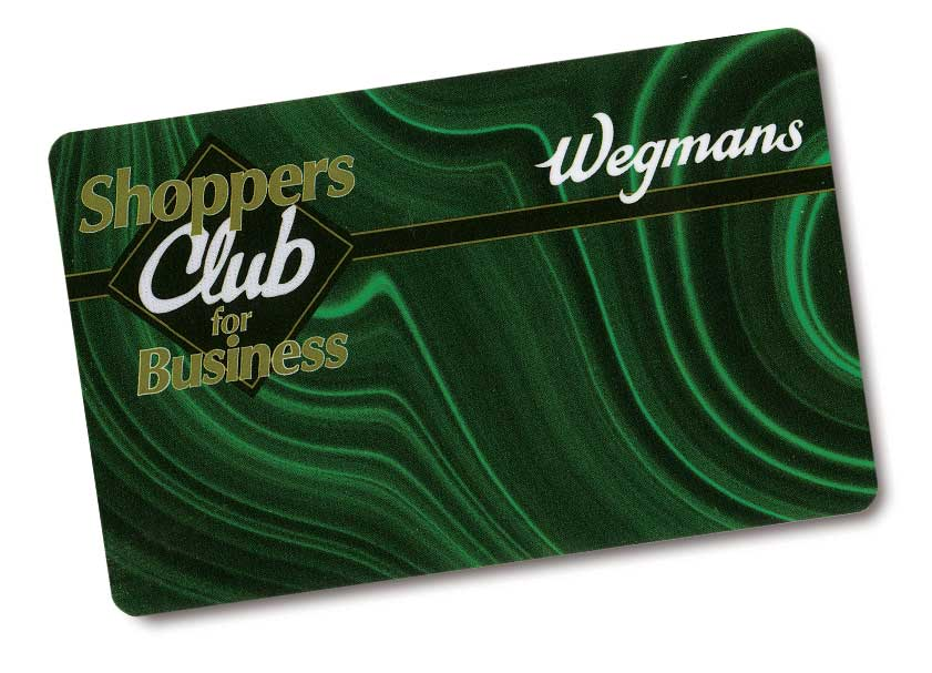 shoppers club for business card