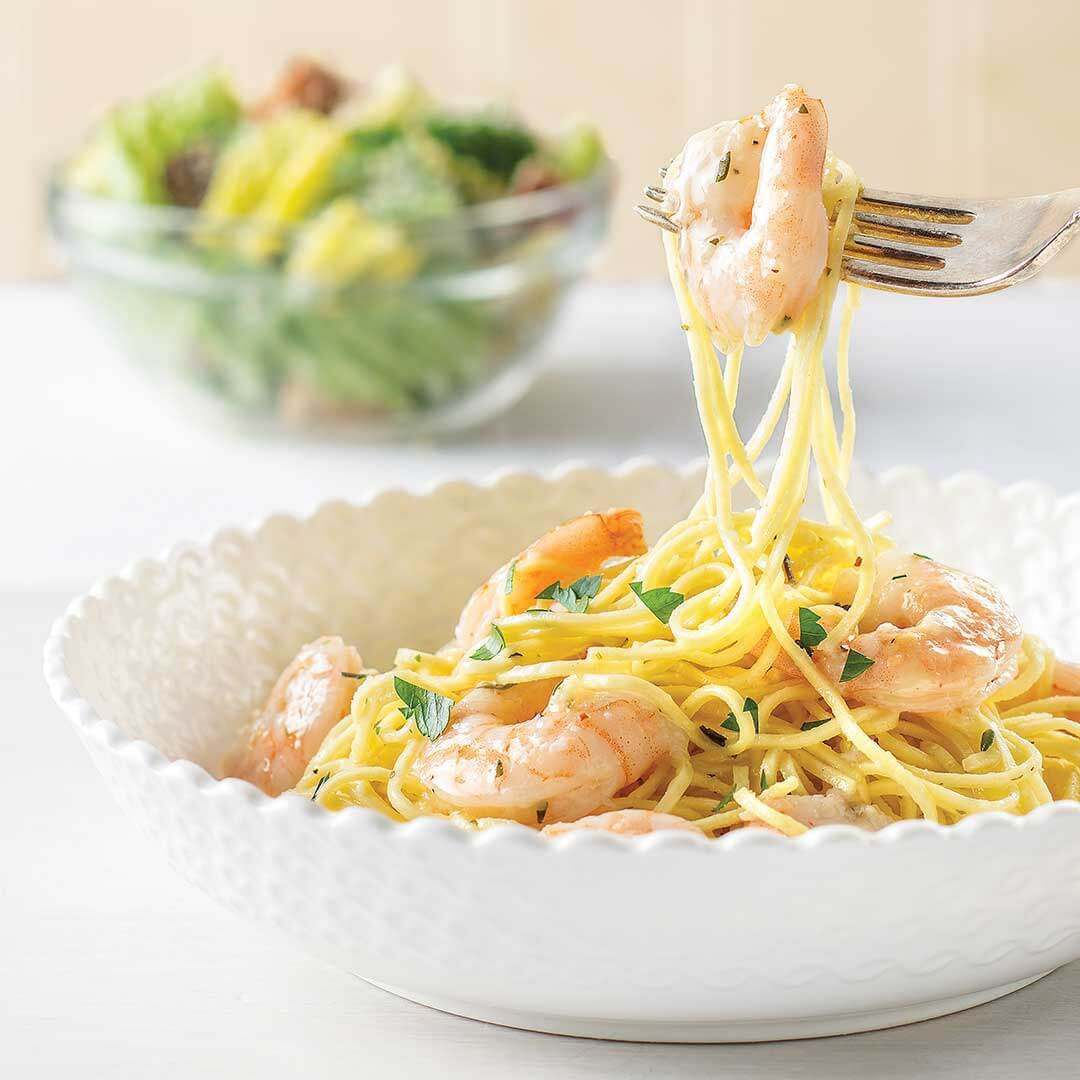 Shrimp Scampi Meal