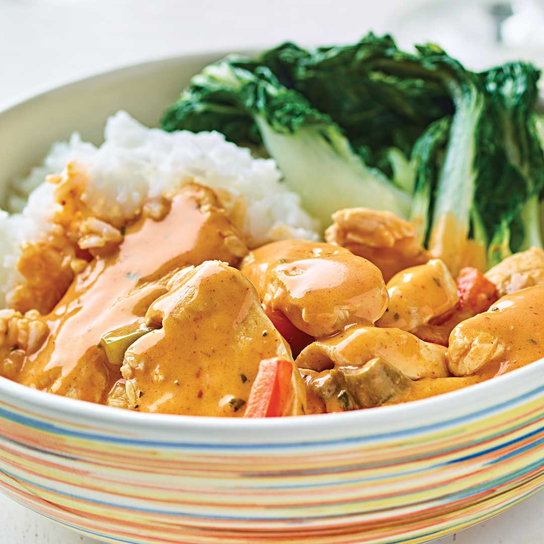 Thai Red Curry Chicken Meal