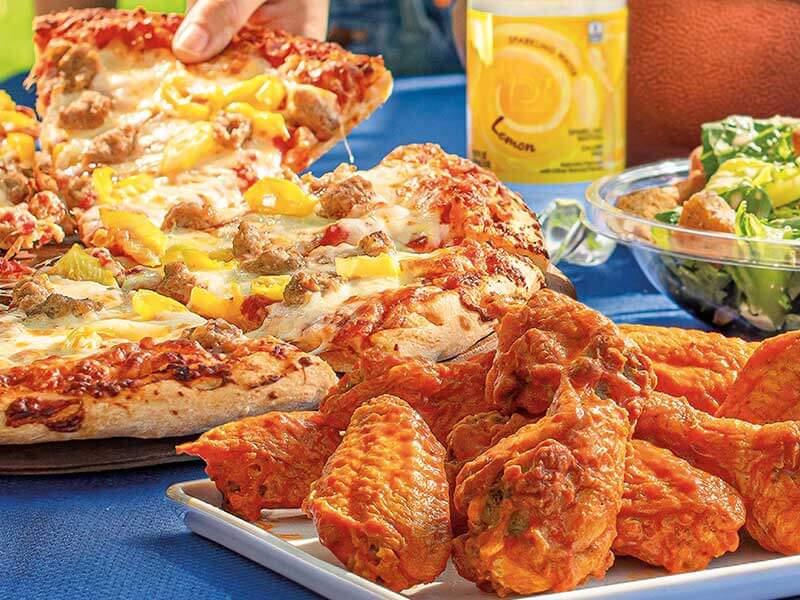 Pizza, Wings & Sides