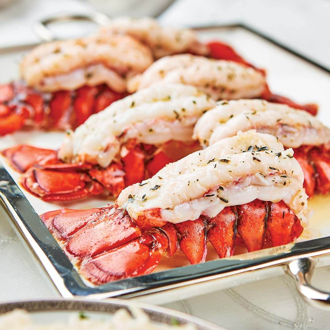 Classic Baked Lobster Tails