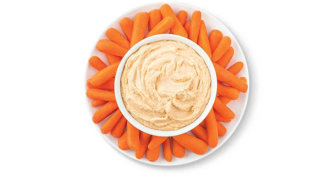 carrots and hummus