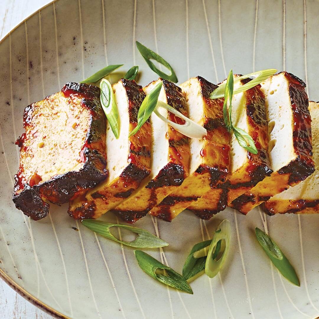 Grilled Asian BBQ Tofu