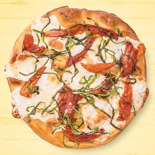 Margherita Style Naan Pizza