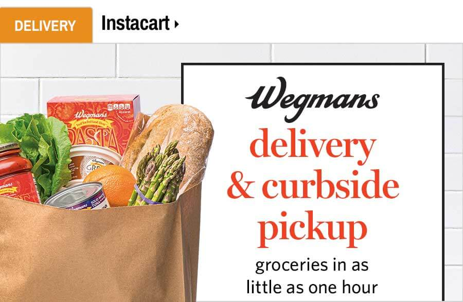 Wegmans Delivery and Curbside Pickup